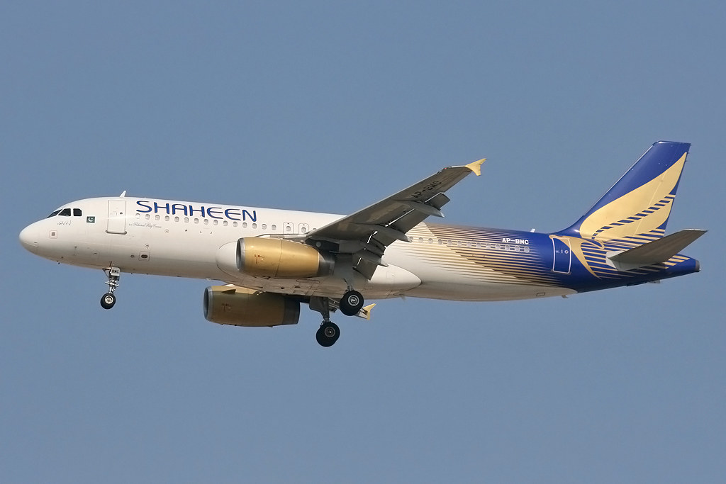 AP-BMC - A320-232 - Shaheen
