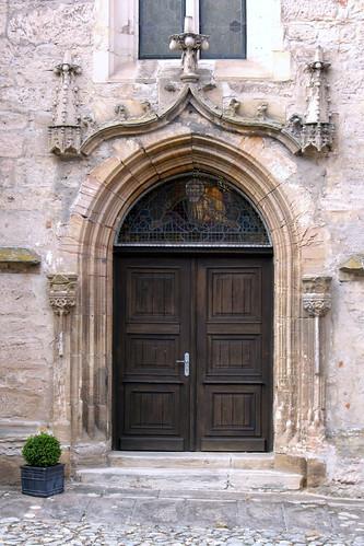 Heldburg, St. Marien, Südportal