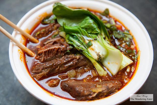 La Mei Taiwanese Beef Noodle soup
