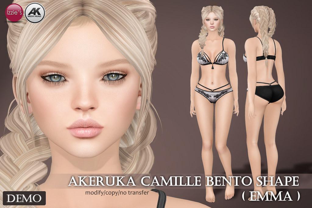Emma Shape (for Akeruka Camille Bento) - SecondLifeHub.com