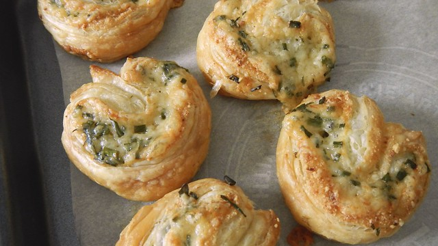 Herb Cheese Palmiers 16