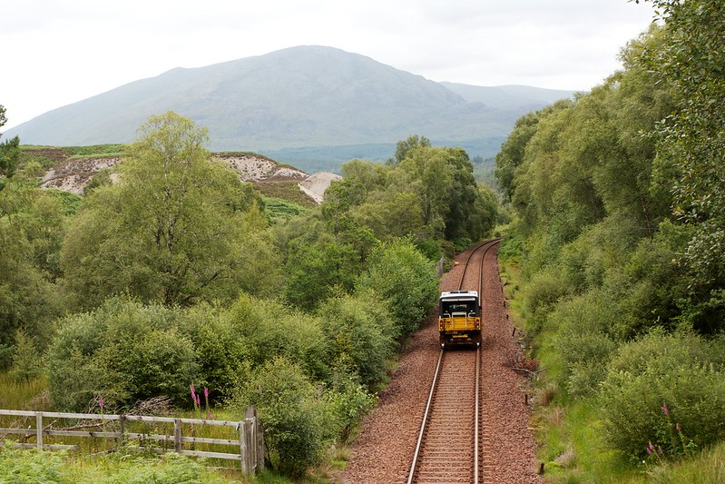 Maintenance Truck on the Line to Fort William