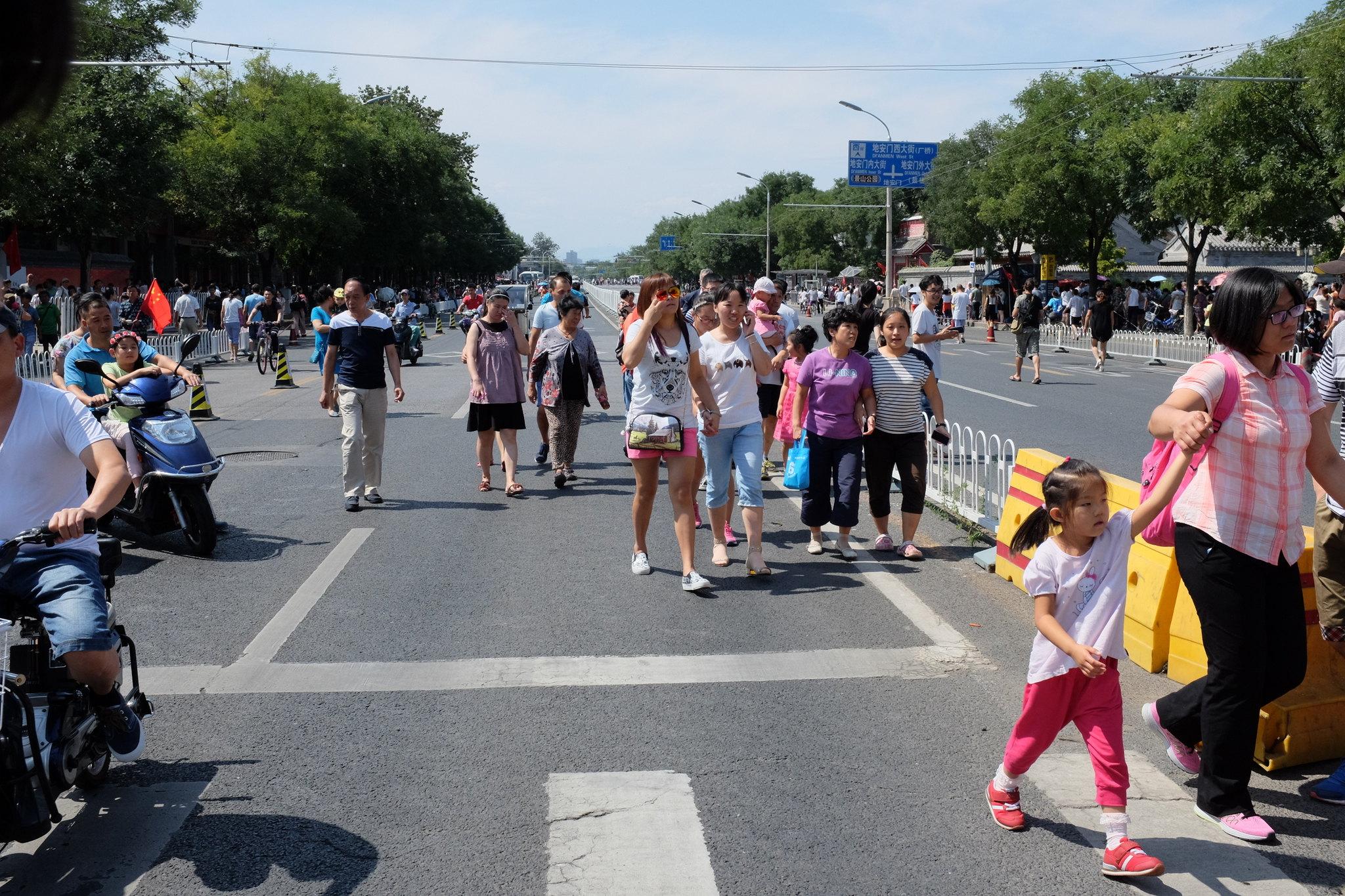 Nach der Parade