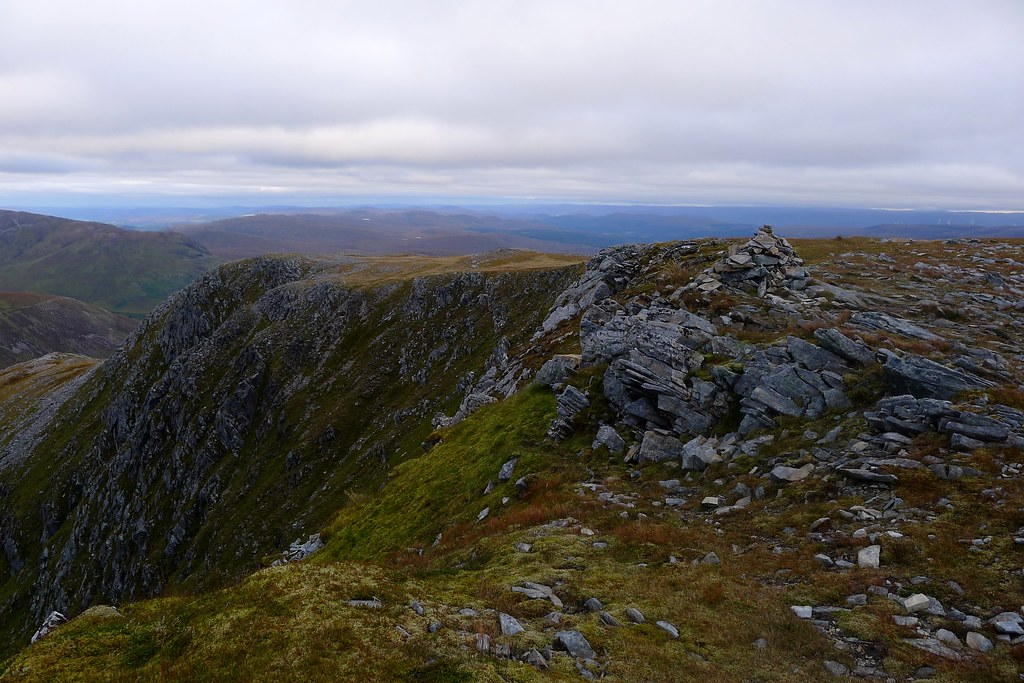 Summit of Carn Ghluasaid