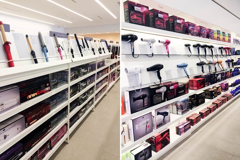 cute & little blog | beauty brands addison dfw store | hair curlers blow dryers, hot tools