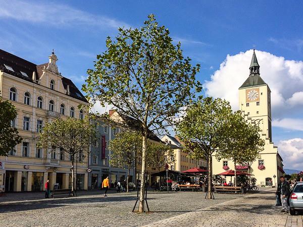 Deggendorf, altes Rathaus