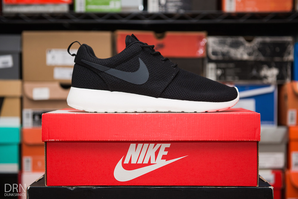 Black Roshe Runs. Third Pair.