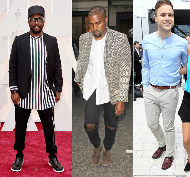grandad-shirts-striped-shirt-black-trousers-with-white-side-panel-ripped-jeans-mens-geometric-print-blazer-pale-blue-collarlesshirt-white-band-collar-shirt