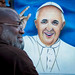 Painting the Pope by vpickering