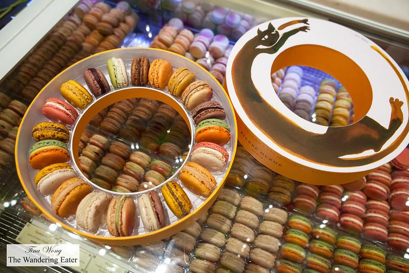 Initiation Chat macarons box