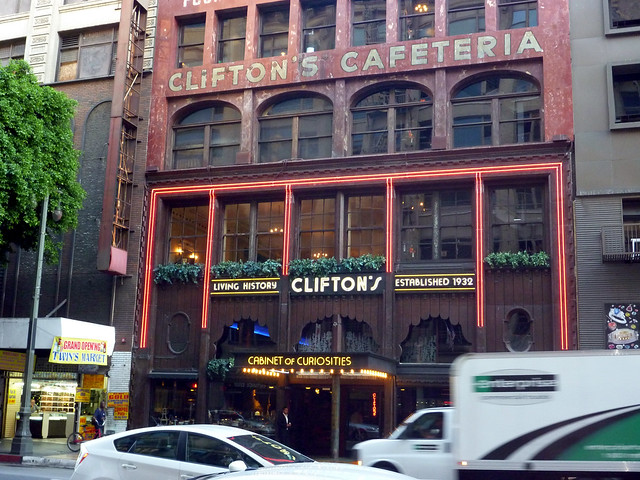 Clifton's Cafeteria 2015 - Keith Valcourt for Retro Roadmap