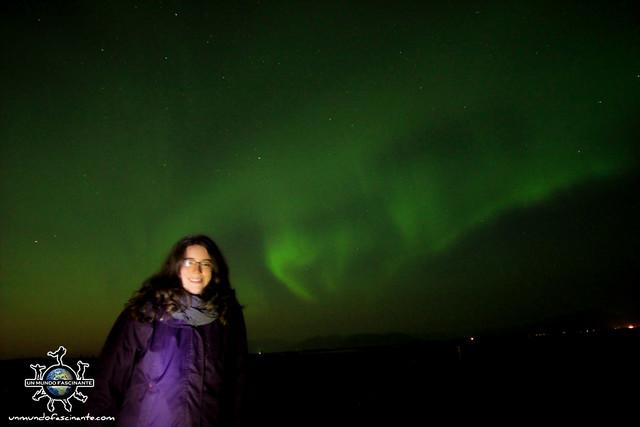 Auroras Boreales en Islandia. Iceland. Ísland.