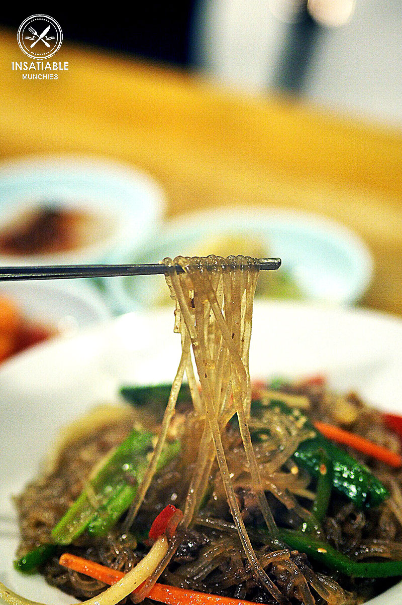 Sydney Food Blog Review of BCD Tofu House, Epping: Japchae