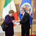 New Permanent Observer of Italy presents credentials