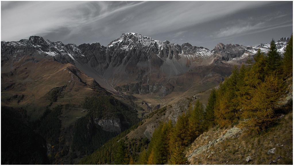 Mont Velan mt. 3734 - combe Barruard - combe de By # petit chemin col de Breuson ( Ollomont - Vallée d'Aoste )