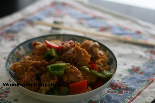Chinese Sweet and Sour Chicken 13