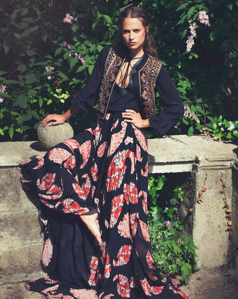 Алисия Викандер — Фотосессия для «The Edit» 2015 – 10