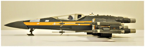 "Star Wars The Force Awakens - 3.75"" Poe Dameron's X-Wing"