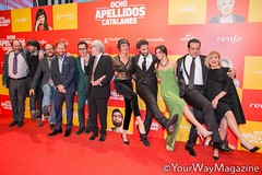 PREMIERE OCHO APELLIDOS CATALANES -MADRID- (Por @NataliaRfoto)