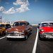 Classic cars on the Malecón by Lil [Kristen Elsby]
