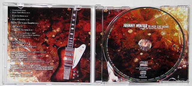 JOHNNY WINTER BLACK CAT BONE LIVE TEXAS POP