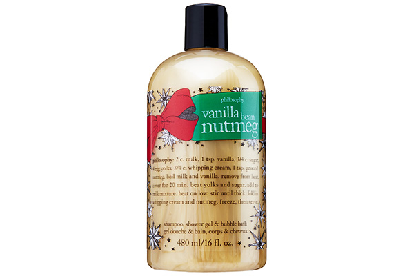Philosophy Vanilla Bean Nutmeg Shampoo, Shower Gel and Bubble Bath