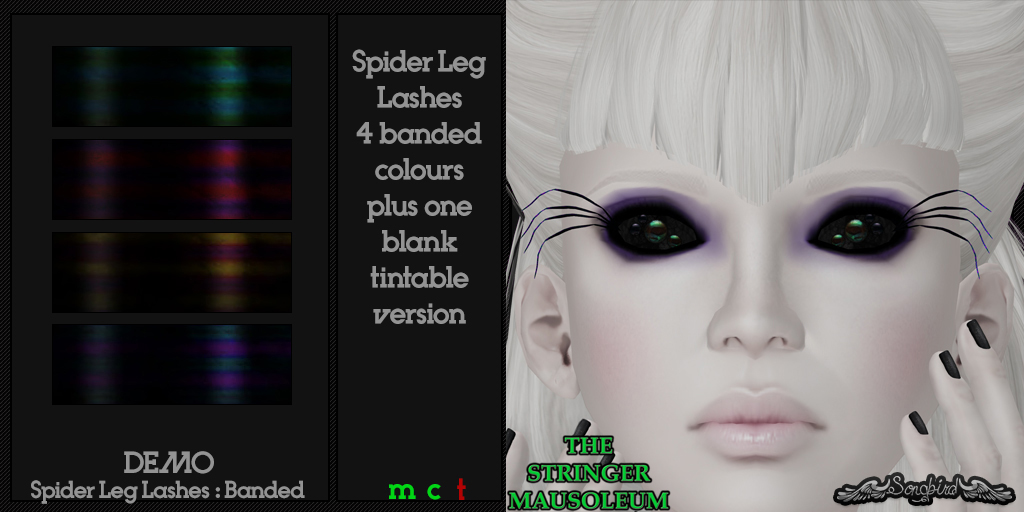~SongBird~ & *TSM* Spider Leg Lashes : Banded