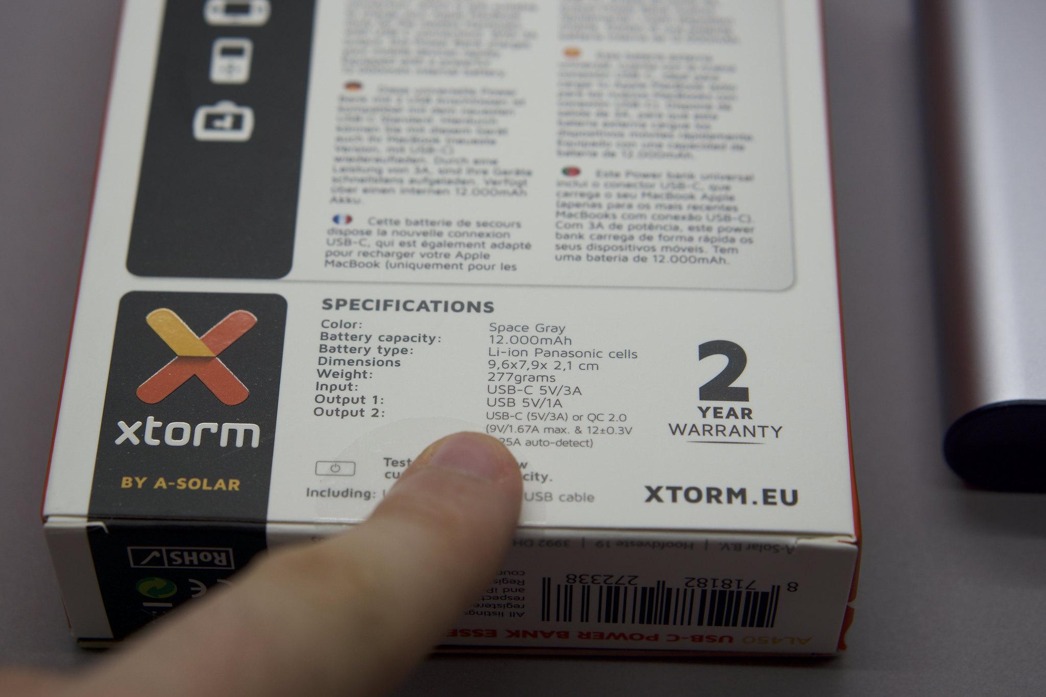 Xtorm USB-C