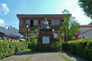 Vigan - Leona Florentino statue