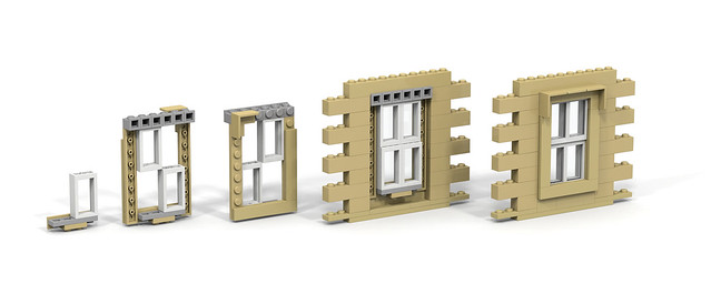 LEGO sash window