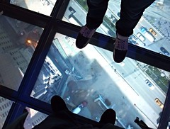 At the One World Trade Center Observatory