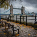 Tower Bridge on an Autumn Day by James Neeley
