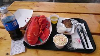 Live lobster set