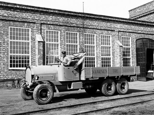 Грузовик Scania-Vabis CLc 6x2. 1911 – 1925 годы