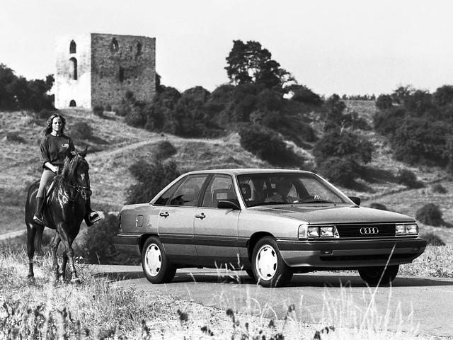 Седан Audi 5000S Turbo. 1984 – 1986 годы