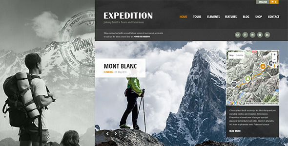Ait-Themes Expedition v1.23 - Theme for Guides and Travelers