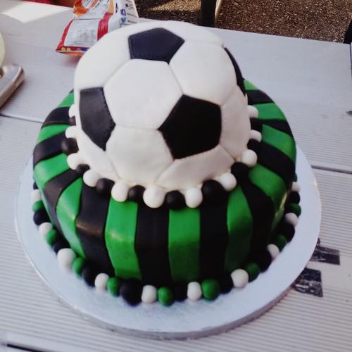 Katy's amazing cake.