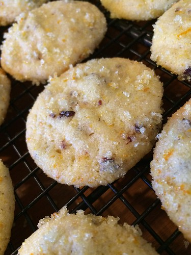 Cranberry Orange Cookies