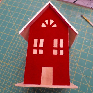 Iron Craft '15 Challenge #25 - Felt Fronted Houses
