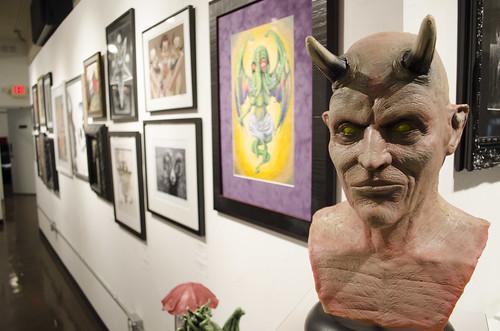 Devil Mask by Christopher Lee