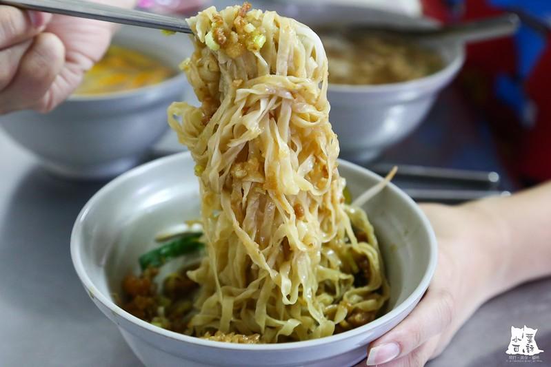 【新北市三重美食小吃】隱藏版平價美食。三重大仁街無名麵店,來自台南鹽水的好吃意麵。