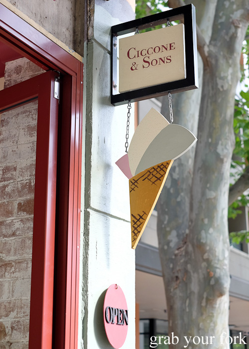 Sydney food blog review of Ciccone & Sons Gelateria, Redfern