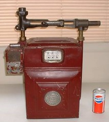 Coin-operated gas meter1