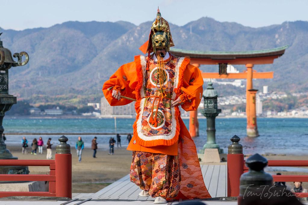 厳島神社天長祭 舞楽