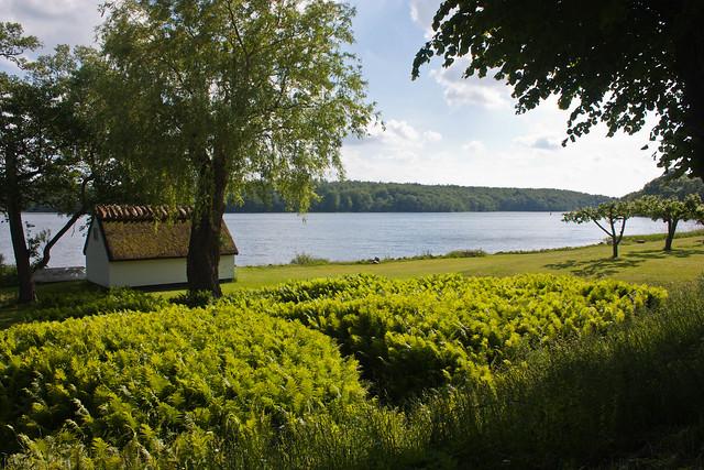 Udsigt over Farum sø fra Farumgård