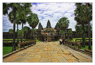 Siem Reap K - Angkor wat processional route