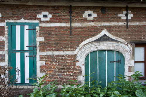 Herenthout, molenhuis Herlaar, detail