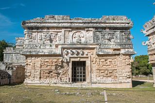 Image of Chichen Itzá near San Felipe Nuevo. 2017 mexico yucatan january winter mayan chichenitza ruins mexique estadosunidosmexicanos thenunnery edificiodelasmonjas mexiko 墨西哥
