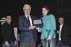 premiazioni paraolimpici Gran Gu