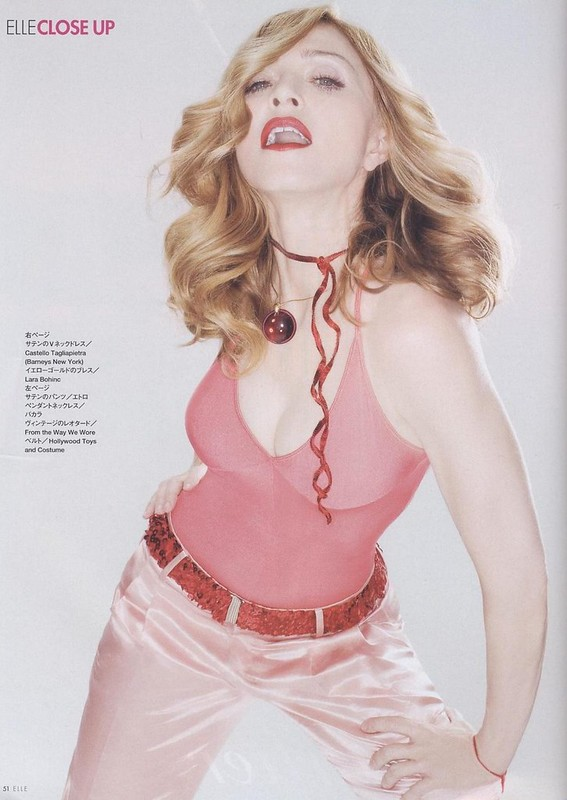 マドンナのすべて / Madonna, elle, Jp, April 2006